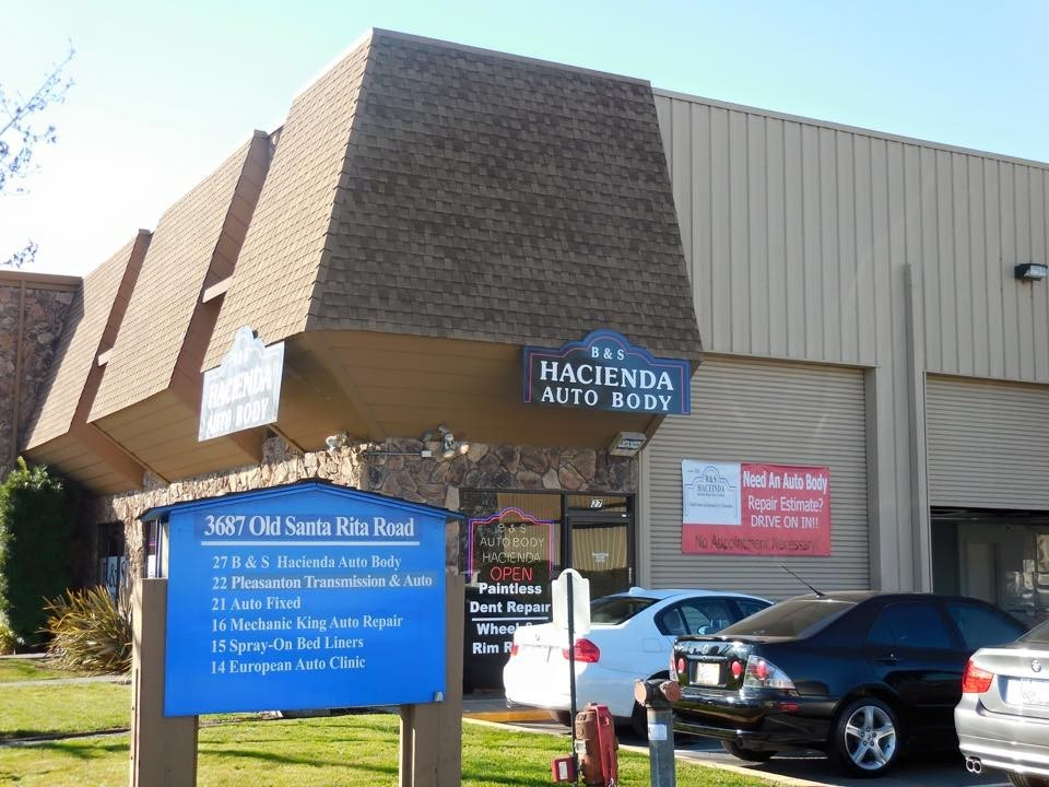 B & S Hacienda Auto Body - Pleasanton