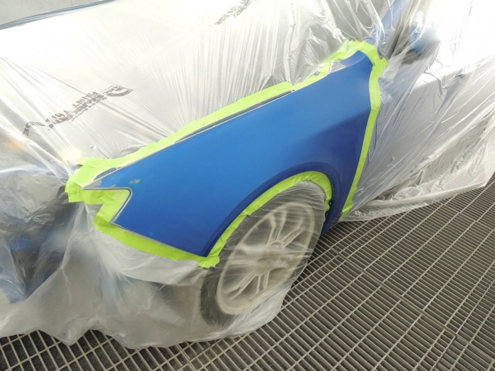 At Stepp Brothers Body Shop, Anchorage, AK, 99501, we have certified paint technicians trained to color match your vehicle to the existing finish.