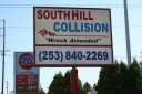 Our body shop's business office located at Puyallup, WA, 98375-6621 is staffed with friendly and experienced personnel.