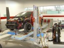Professional vehicle lifting equipment at CDE Collision Centers Calumet Ave, located at Valparaiso, IN, 46383, allows our damage technicians a clear view of what might be causing the problem.
