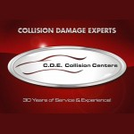 CDE Collision Centers (Portage) Portage IN 46368 Logo. CDE Collision Centers (Portage) Auto body and paint. Portage IN collision repair, body shop.