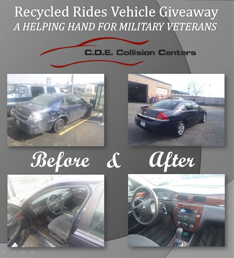 C.D.E. Collision Damage Experts (Lansing) 2735 Bernice Rd  Lansing, IL 60438  We proudly display before & after pictures.