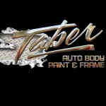 Taber Body Paint & Frame Grand Junction CO 81501-3643 Logo. Taber Body Paint & Frame Auto body and paint. Grand Junction CO collision repair, body shop.