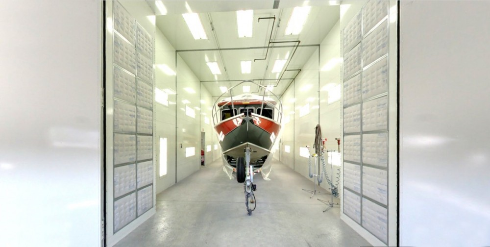 A professional refinished collision repair requires a professional spray booth like what we have here at Chehalis Collision Center in Chehalis, WA, 98532.