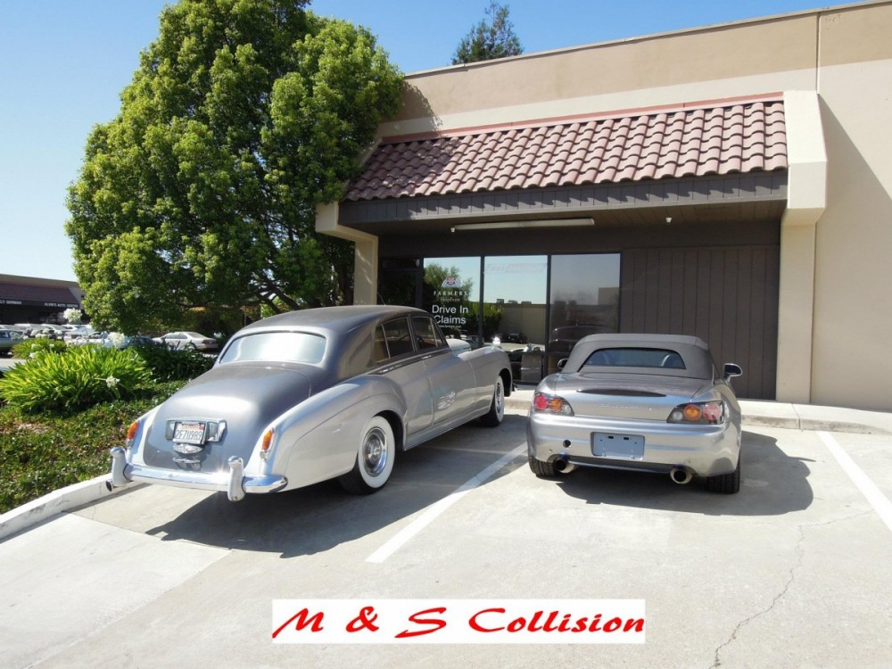 M & S Collision - Milpitas 107 Minnis Circle  Milpitas, CA 95035-3150  Our Drive-In Claim Inspections Are Just Part of Our Services Offered...
