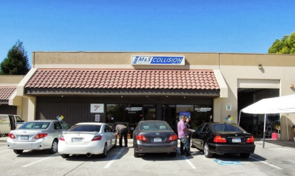 M & S Collision - Milpitas 107 Minnis Circle  Milpitas, CA 95035-3150  Centrally located with easy access for our guests....