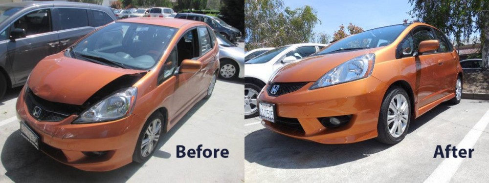 M & S Collision - Milpitas 107 Minnis Circle  Milpitas, CA 95035-3150  Before and After photos displays the Pride in our work