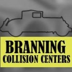 Branning Collision Centers - Freehold Freehold NJ 07728 Logo. Branning Collision Centers - Freehold Auto body and paint. Freehold NJ collision repair, body shop.