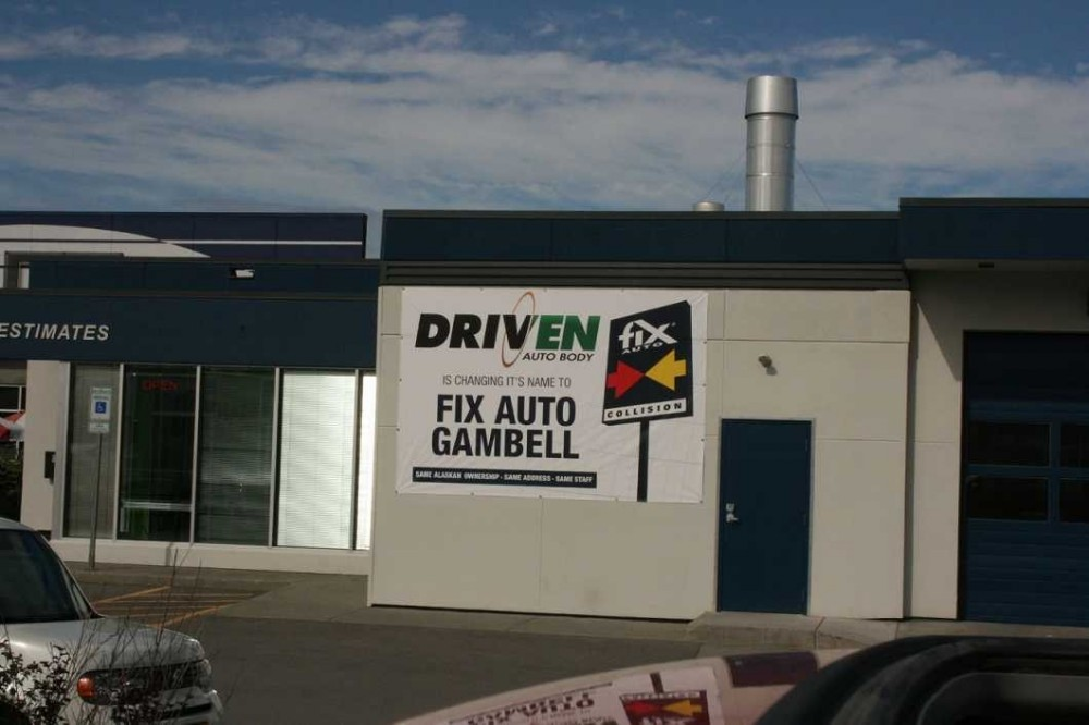 Anchorage AK Fix Auto Gambell body shop reviews. Collision repair near 99501. Fix Auto Gambell for auto body repair.