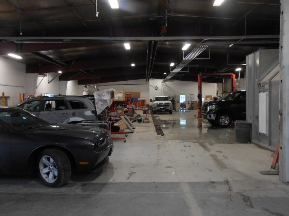 We are a state of the art Collision Repair Facility waiting to serve you, located at Soldotna, AK, 99669.