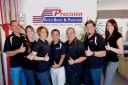 At Precision Auto Body & Painting, located at Goleta, CA, 93117-3323, we have friendly and very experienced office personnel ready to assist you with your collision repair needs.