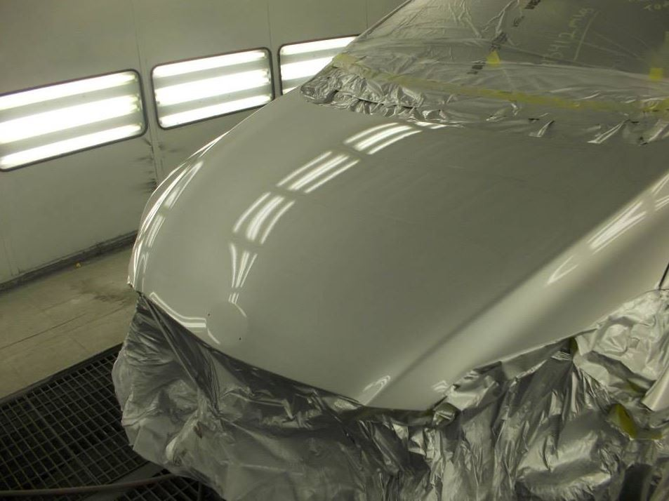 A professional refinished collision repair requires a professional spray booth like what we have here at B & B Collision Repair in San Luis Obispo, CA, 93401.