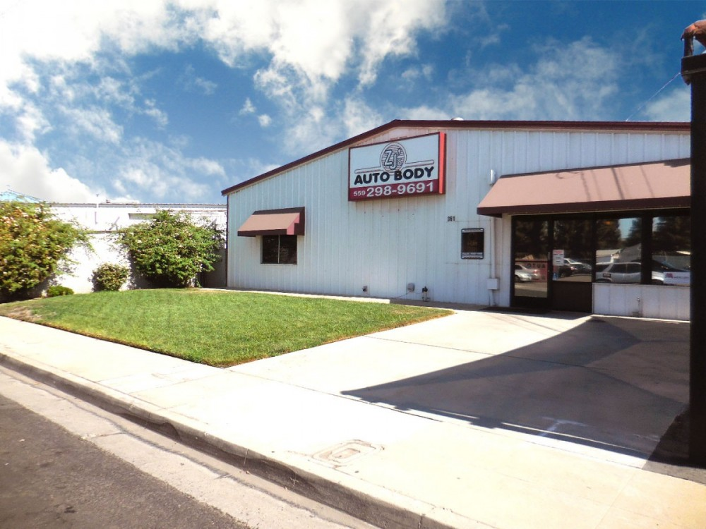 ZJ's Auto Body 361 N. Minnewawa  Clovis, CA 93612  Our State of the Art Collision Facility can handle all of your collision repair needs...