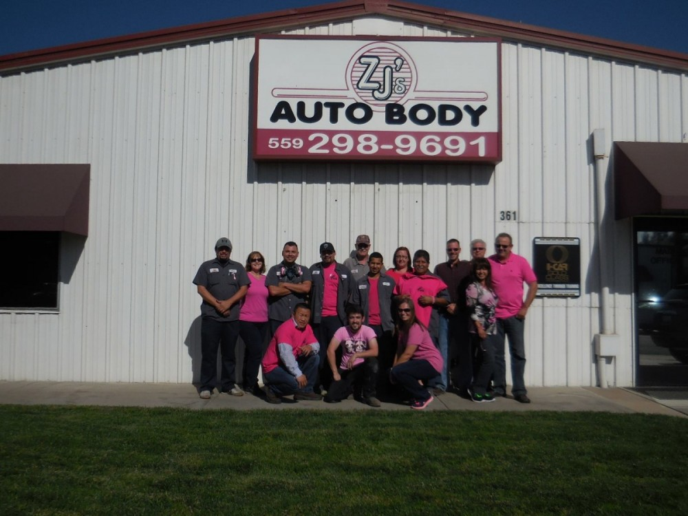 ZJ's Auto Body 361 N. Minnewawa  Clovis, CA 93612  Your Collision Repair is In The Hands of a Highly Experienced Team of Professionals.