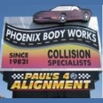Here at Phoenix Body Works, Phoenix, AZ, 85027, we are always happy to help you with all your collision repair needs!
