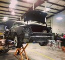 Professional vehicle lifting equipment at Nola Collision, located at Metairie, LA, 70002, allows our damage estimators a clear view of all collision related damages.