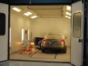 A professional refinished collision repair requires a professional spray booth like what we have here at Paragon Auto Collision in Wyckoff, NJ, 07481.