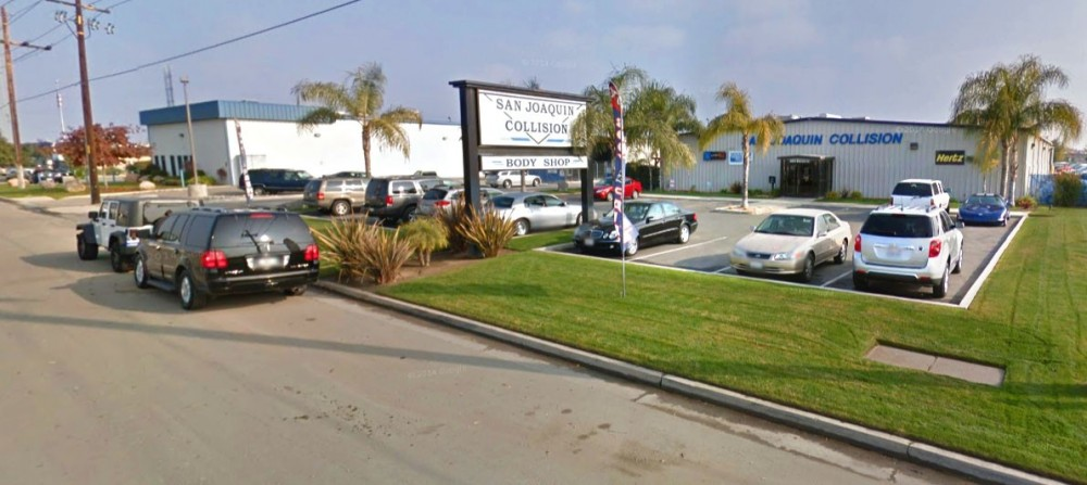 San Joaquin Collision 3816 Fruitvale Ave.  Bakersfield, CA 93308-5112  We are centrally located for our customer's convienence