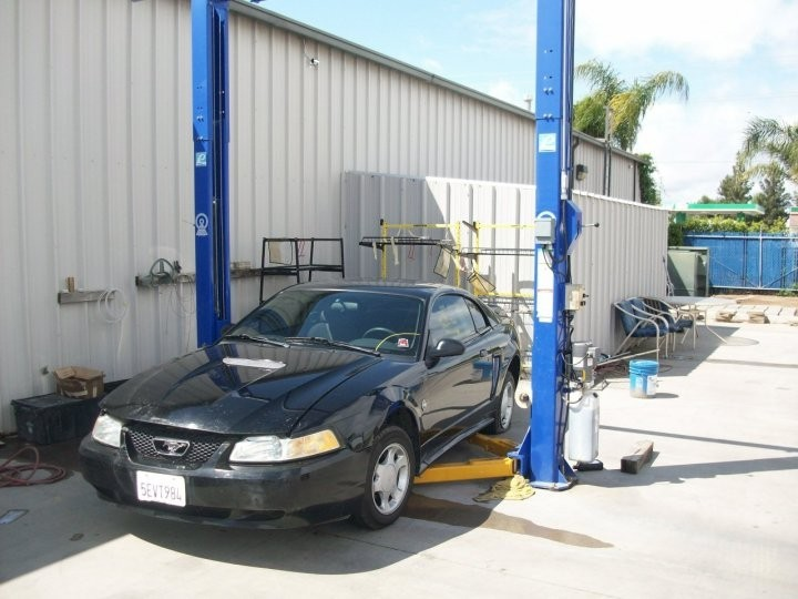 San Joaquin Collision 3816 Fruitvale Ave.  Bakersfield, CA 93308-5112  We have equipment for every part of the repair process.