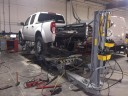 Professional vehicle lifting equipment at Salinas Collision Repair, located at Salinas, CA, 93907, allows our damage estimators a clear view of all collision related damages.