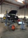 Professional vehicle lifting equipment at Salinas Collision Repair, located at Salinas, CA, 93907, allows our damage technicians a clear view of what might be causing the problem.