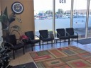 Here at Salinas Collision Repair, Salinas, CA, 93907, we have a welcoming waiting room.