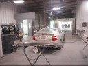 A professional refinished collision repair requires a professional spray booth like what we have here at Hilbish Ford in Kannapolis, NC, 28083.