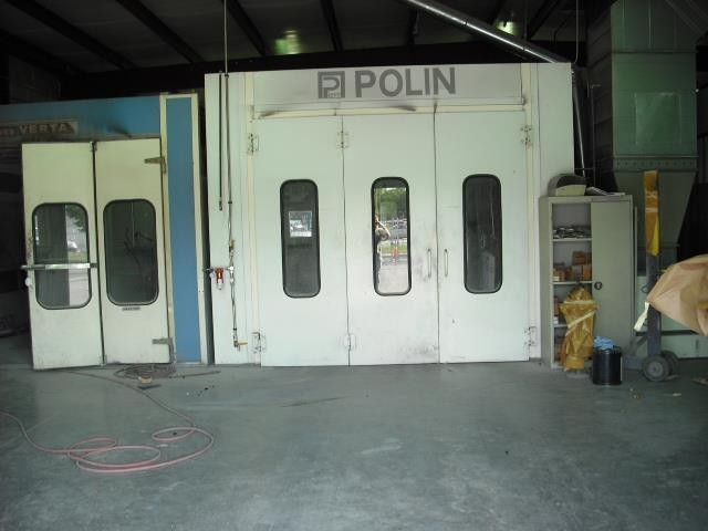 A neat and clean and professional refinishing department is located at Adamson Collision Center, Birmingham, AL, 35233