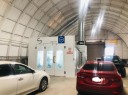 A professional refinished collision repair requires a professional spray booth like what we have here at Aurora Collision Center Llc in Stockton, CA, 95206.