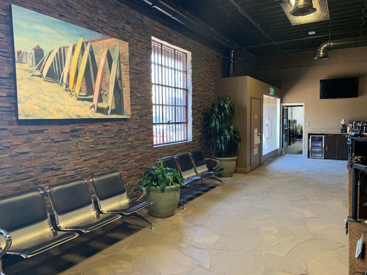 Here at Concierge Collision Repair, Inc., Los Angeles, CA, 90045, we have a welcoming waiting room.