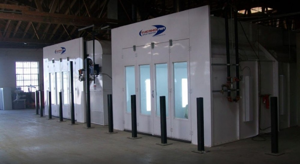 A professional refinished collision repair requires a professional spray booth like what we have here at Concierge Collision Repair, Inc. in Los Angeles, CA, 90045.
