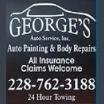 At George's Auto Service, Inc., located at Pascagoula, MS, 39581, we have offices designated just for our insurance representatives.