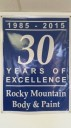 At Rocky Mountain Body And Paint Inc., in Colorado Springs, CO, we proudly post our earned certificates and awards.