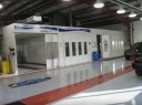 A professional refinished collision repair requires a professional spray booth like what we have here at Speedway Body Shop in Indianapolis, IN, 46222.