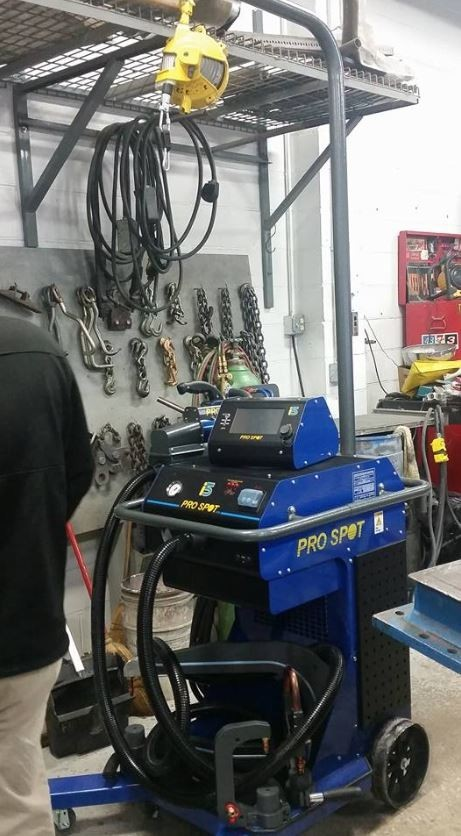 At Speedway Body Shop, in Indianapolis, IN, 46222, we are equipped with a certified aluminum welding area.