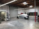 A clean and neat refinishing preparation area allows for a professional job to be done at Gosch Collision At Ford, Hemet, CA, 92543.