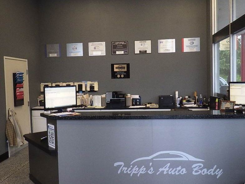 At Tripps Auto Body & Paint, located at Grass Valley, CA, 95949, we have friendly and very experienced office personnel ready to assist you with your collision repair needs.