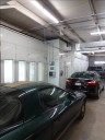 A professional refinished collision repair requires a professional spray booth like what we have here at Gillette's Collision Center in Waukesha, WI, 53189.