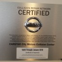 At Carstar City Motors Collision Center, in Santa Maria, CA, we proudly post our earned certificates and awards.