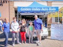 Friendly faces and experienced staff members at Golden Valley Auto Body, in Yuba City, CA, 95991, are always here to assist you with your collision repair needs.