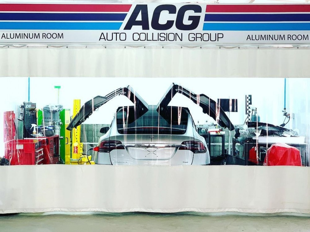 At Auto Collision Group Inc., in Whittier, CA, 90606, we are equipped with a certified aluminum welding area.