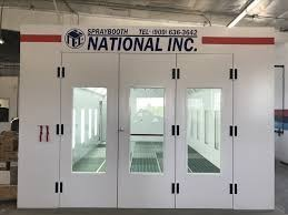 A professional refinished collision repair requires a professional spray booth like what we have here at Auto Collision Group Inc. in Whittier, CA, 90606.