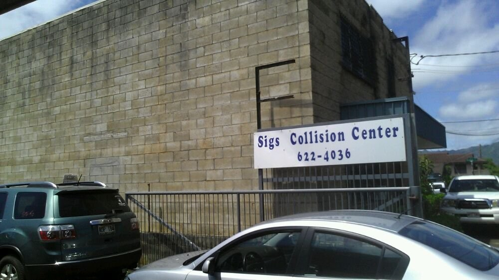 Sigs Collision Centers - Wahiawa