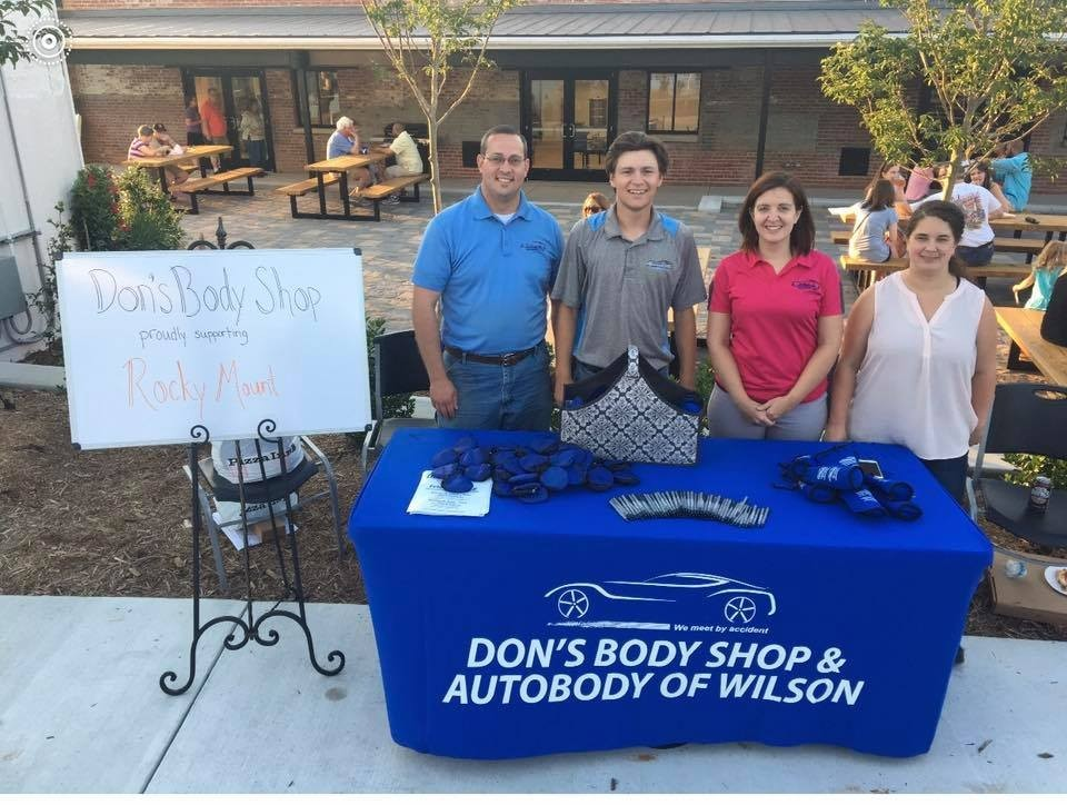 At Carstar Don's Body Shop & Collision Center, Rocky Mount, NC, 27803, we never pass up the chance to participate in community events.