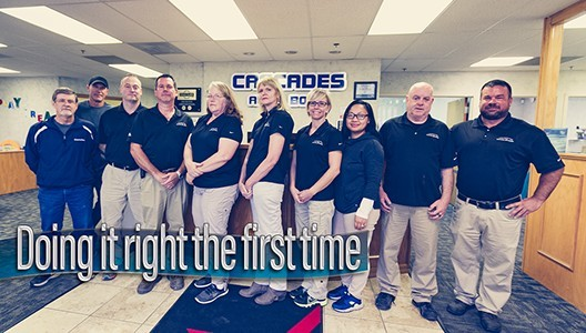 At Cascades Auto Body, located at Sterling, VA, 20166, we have friendly and very experienced office personnel ready to assist you with your collision repair needs.