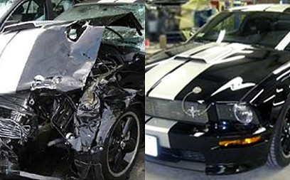Our shop at 3 Stage Auto Collision, we are always proud to post our before and after work!
