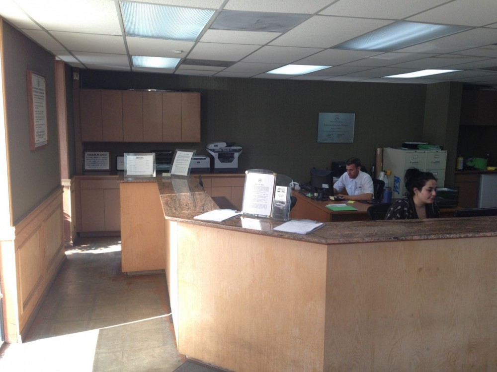 Our body shop's business office located at Glendale, CA, 91204 is staffed with friendly and experienced personnel.