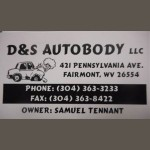 Here at D & S Auto Body, Fairmont, WV, 26554, we are always happy to help you with all your collision repair needs!