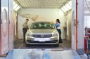 A professional refinished collision repair requires a professional spray booth like what we have here at CARSTAR Auto World Collision in South San Francisco, CA, 94080.