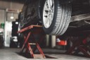 Professional vehicle lifting equipment at Carbon Collision Center, located at Reseda, CA, 91335, allows our damage technicians a clear view of what might be causing the problem.